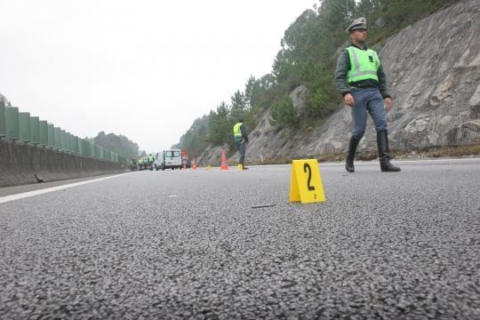 Acidente aconteceu ao quilómetro 50 na A28.