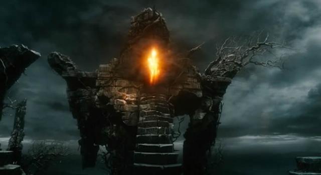 Sauron se muestra en Dol Guldur