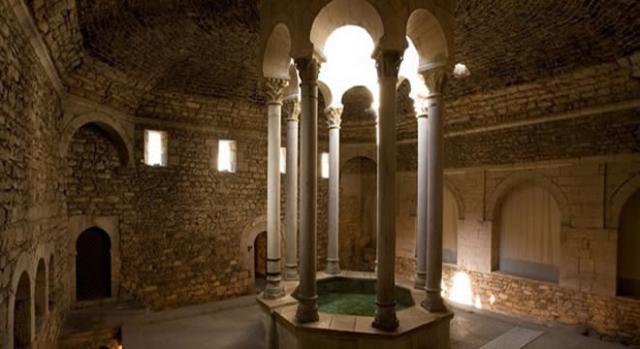 Baños Árabes en la ciudad de Girona