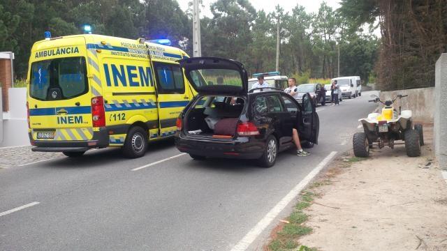 Situação ocorreu na Rua da Gatinheira, Marinhas.