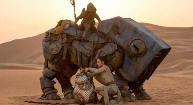 Star Wars El Despertar de la Fuerza Rey y BB-8