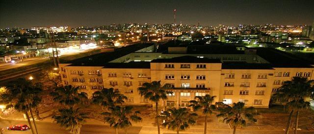Vista do Palácio da Polícia em Porto Alegre