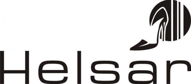 Logotipo da empresa de calçado, Helsar