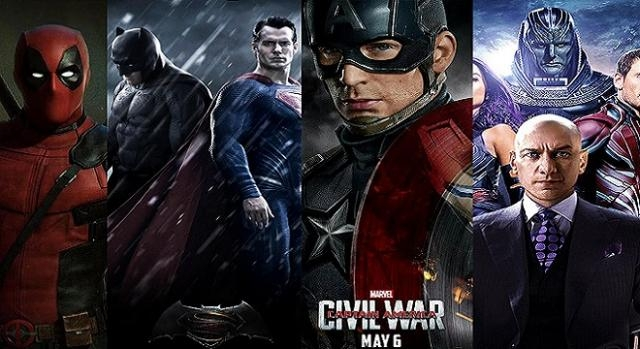 'Civil War', 'X-Men' y 'Dawn of Justice'