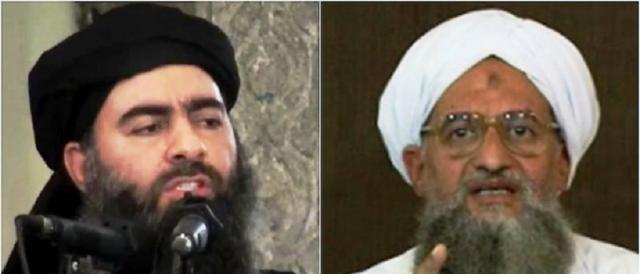 Abu Bakr Al Baghdadi e Ayman Al Zawahiri