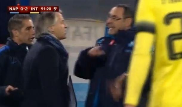 Voti Napoli-Inter Gazzetta: Mancini contro Sarri