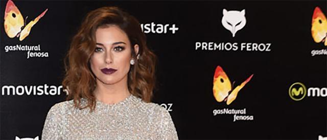 Blanca Suárez en la alfombra roja Premios Feroz