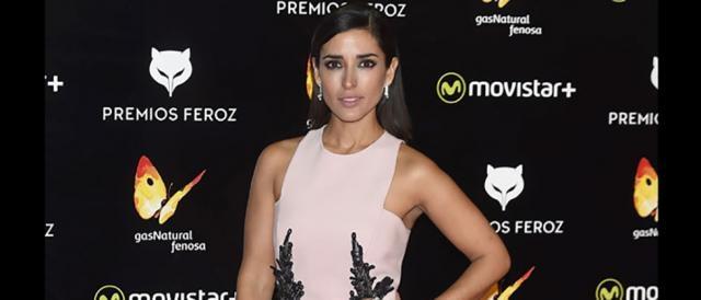 Inma Cuesta en la alfombra roja_ Premios Feroz