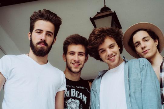 Os Aurora - Tiago, David, Eduardo e João