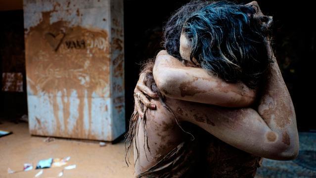 Sobrevivientes a la catastrofe de Brasil