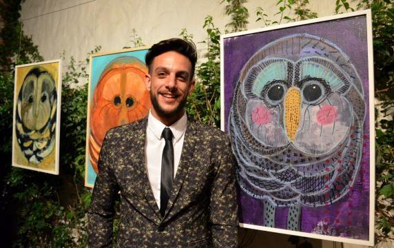 Joaquín Ferreira y su primera exposición en México