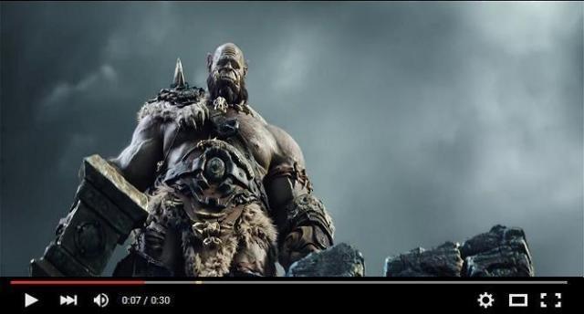 Potente spot de 'Warcraft: El Origen'