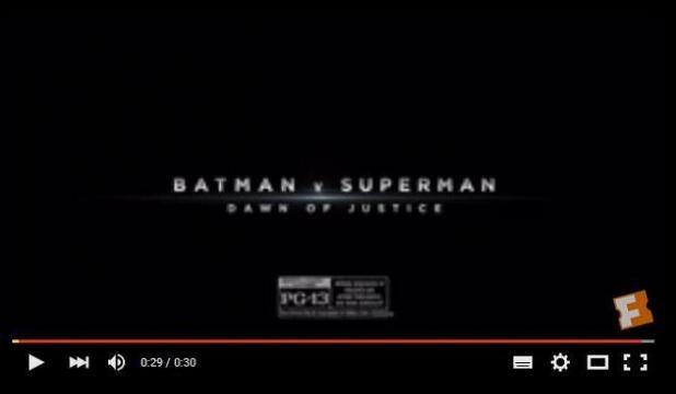 Dos nuevos Spots de Batman v Superman
