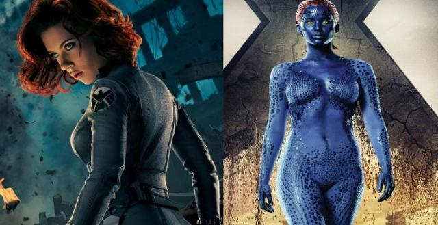 Mystique y Black Widow juntas en la Fase 4