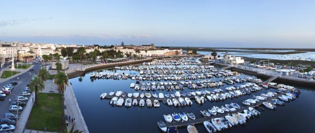 Vista panorâmica da Marina de Algarve