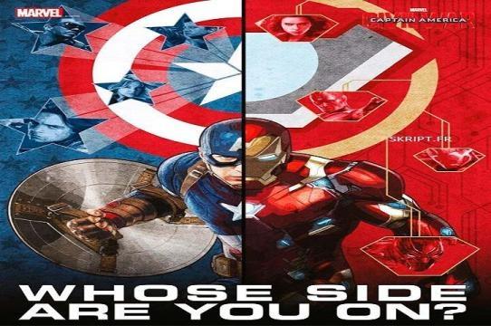 El bando de cada héroe en 'Civil War'