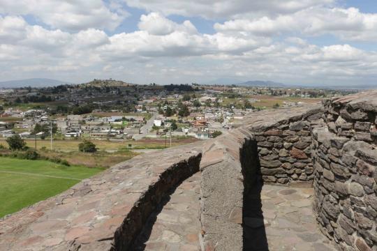 La pirámide de Ehecatl- Quetzalcoatl en la comunidad de Calixtlahuaca