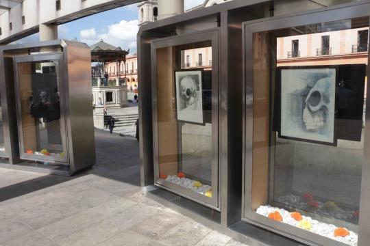 La representación de la muerte ocupando las vitrinas del arte en la capital del Estado de México