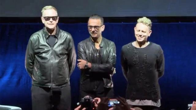 Depeche Mode in Milan- toptwitter.com