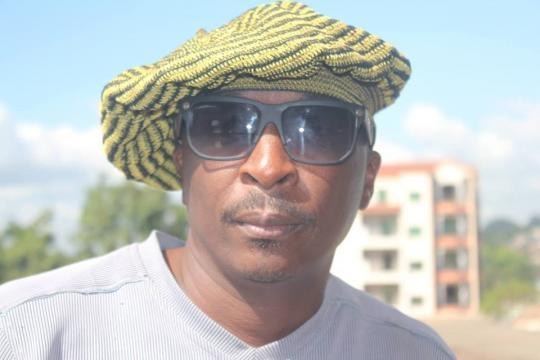 Le promoteur et directeur artistique Fleury Benjamin Ngamele