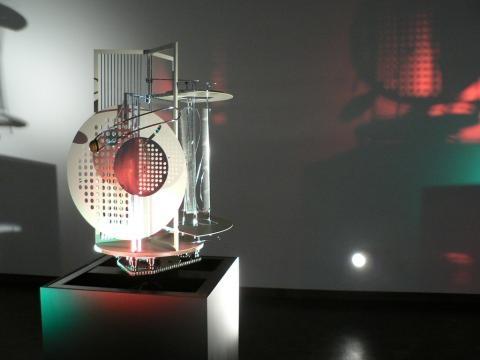 Modulador de espacio luz. László Moholy-Nagy