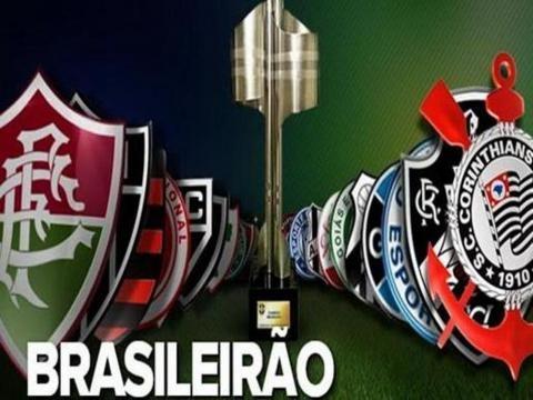 Os times no Campeonato Brasileiro de Futebol.