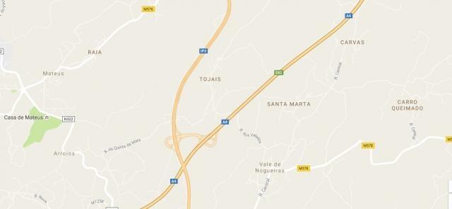 Carro Queimado fica a pouco mais de 10 km de Vila Real, perto da Casa de Mateus.