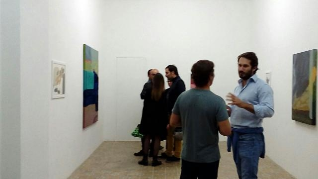 Interno di Acappella per l'opening di Odessa Straub