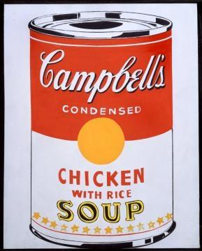 Lattina di fagioli Campbell's di Andy Warhol