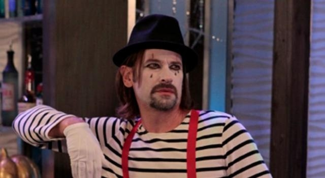 Franco is a creepy mime via ABC GH press release