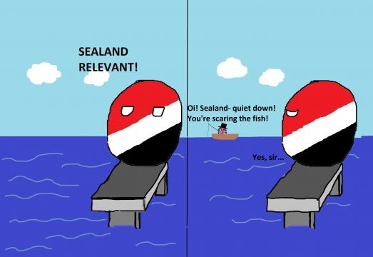Sealand y su disputa con los Ingleses