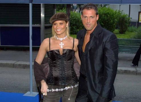 Simona Ventura e Stefano Bettarini, i tempi felici del loro matrimonio.