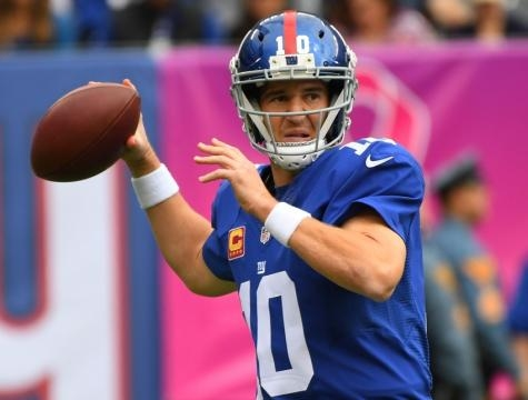 Eli Manning is ageing but is still a two time SuperBowl MVP with plenty to offer on the Twickenham turf for the Giants.