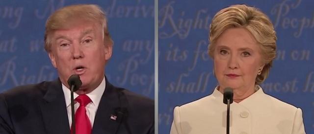 Il momento di un confronto fra Trump e Clinton