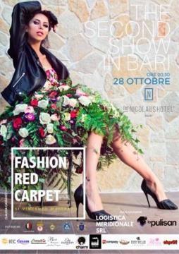 La locandina di Fashion Red Carpet II a Bari