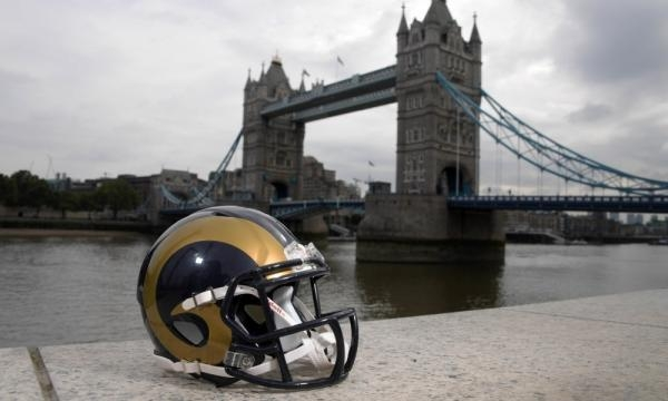 Trying to bridge the gap between their old home in St. Louis and their new in LA, the Rams will have London as their temporary new home this week.