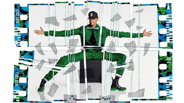 Chance the Rapper per Kenzo X H&M