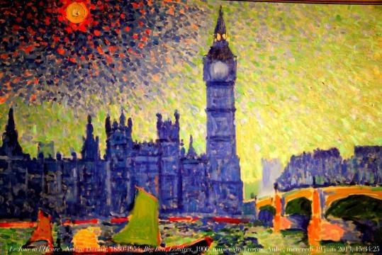 André Derain, Big Ben. Londres. 1906