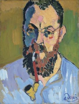 André Derain. Retrato de Henri Matisse.