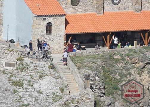 Il Trono di Spade: Melisandre sul set della settima stagione