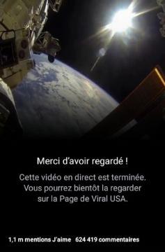 La Terre vue du satellite américain