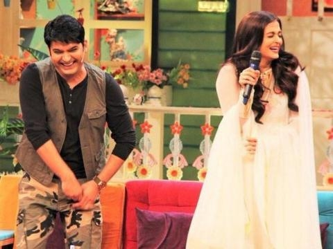Aishwarya Rai Bachchan meets Kapil Sharma and she can't stop ... - hindustantimes.com