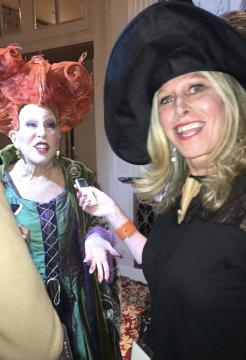 Bette Midler and Hulaween Bash at Waldorf Astoria interview with Tracey Fitzpatrick