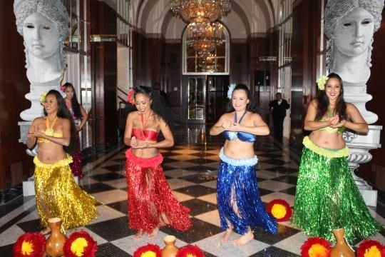 Hulaween Gala At Waldorf Astoria