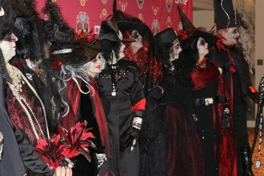 The Witches, Wizards & Warlocks Ball at the Haunted Hotel