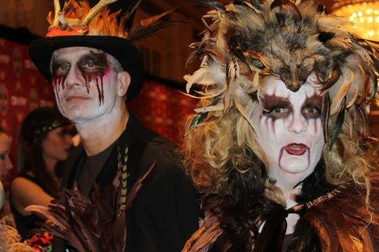 Witches and Ghouls at Bette Midler Halloween Bash