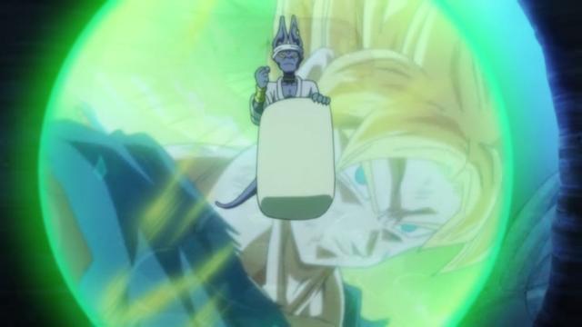Goku hablando en sueños. Escena censurada