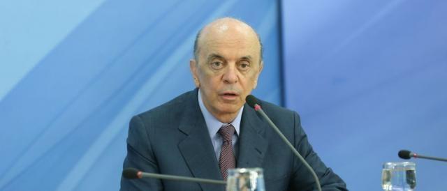 José Serra, ministro das Relações Exteriores, representará o Brasil na Cúpula. (Foto: Valter Campanato/ Agência Brasil)