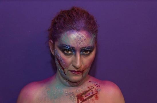 Rossella Regina sirena dark per Halloween