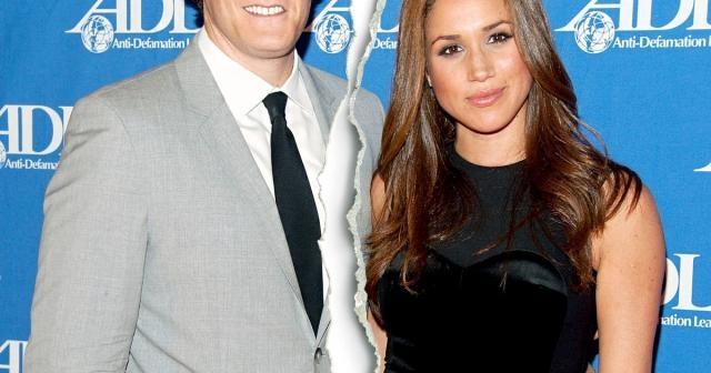Meghan Markle and her ex-husband- usmagazine.com
